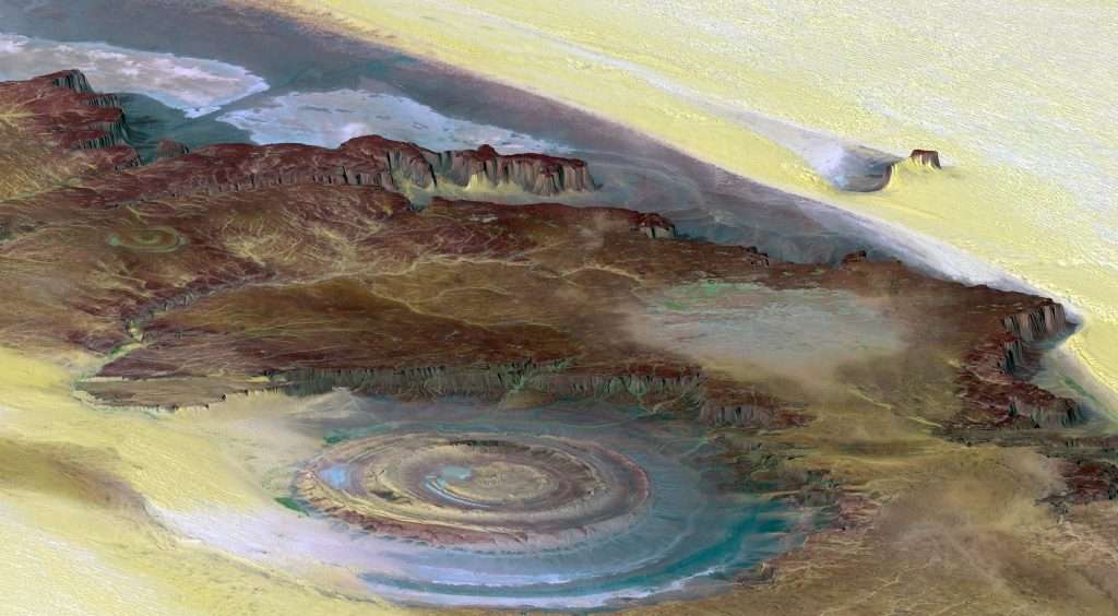 Richat Structure - The Eye of the Sahara